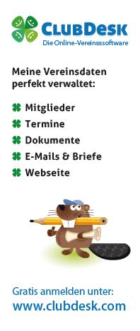 ClubDesk Online Vereinsverwaltung